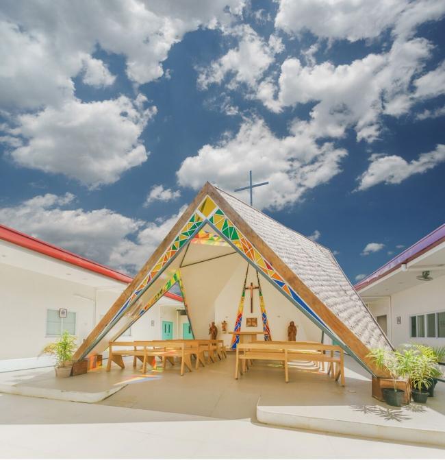 Церковь Св. Бенедикта и Св. Схоластики © WTA Architecture and Design Studio