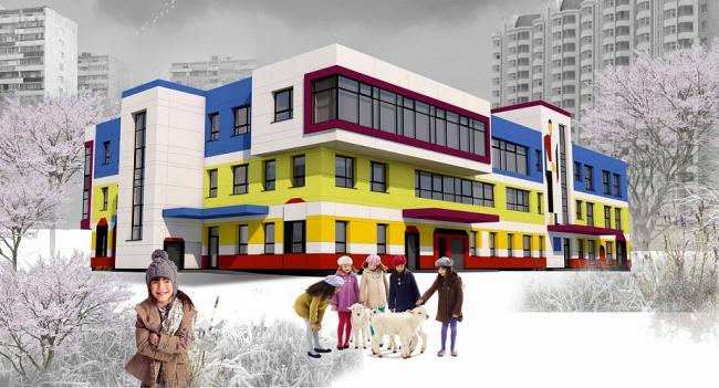 Детский сад в Бескудниково © ППФ «Проект-Реализация»