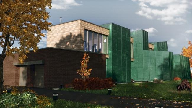 «Медный дом» © Архитектурное бюро Андрея Стубе