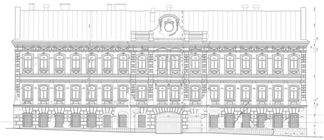 Реставрация жилого дома с палатами XVIII в. © ТИАМАТ-проект