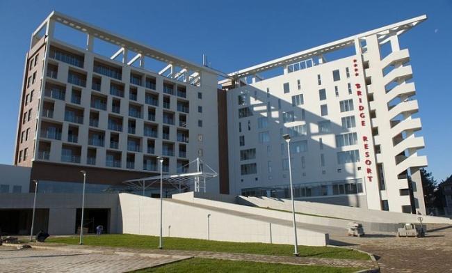 Гостиничный комплекс «Бридж Резорт» © НПО «Мостовик»