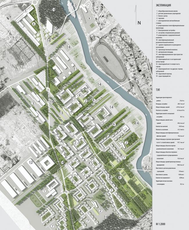 Комплексное развитие территории г. Звенигород © IQ Studio