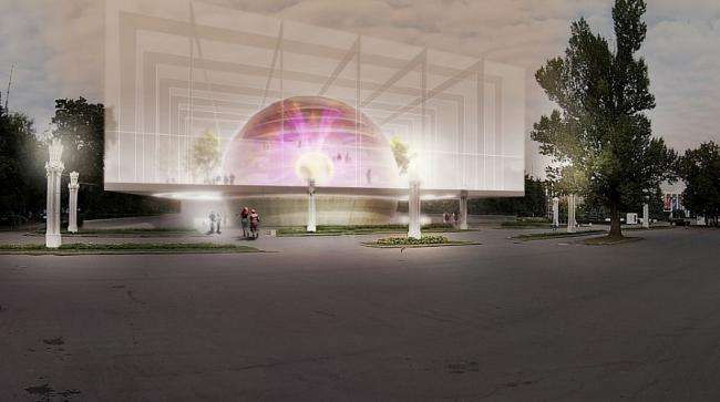 Павильон атомной энергии © Межрегиональный Институт Градостроительства