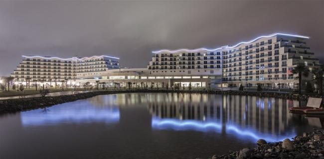Комплекс зданий и сооружений – гостиничный комплекс AZIMUT Hotel Resort & SPA Sochi 4* и апарт-отель AZIMUT Hotel Sochi 3* © ЗАО «Аукетт Фицрой Восток»