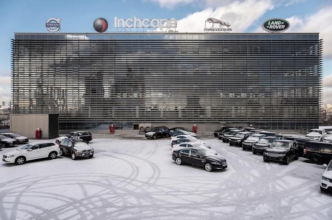 Автотехцентр Volvo JLR © Сенаб-Проект