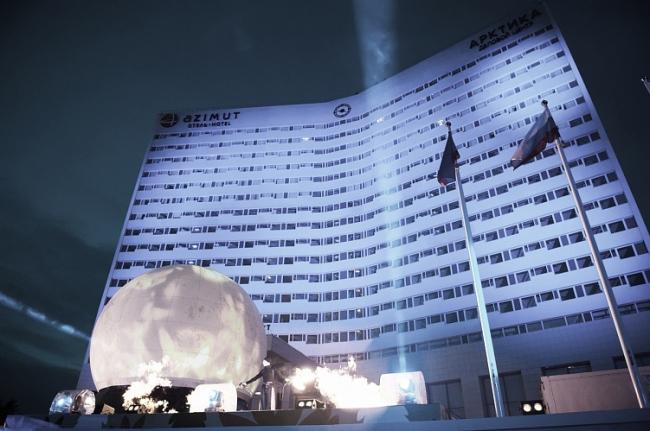 Реновация гостиницы «Арктика» в Мурманске. Azimut Отель Мурманск © Архитектурная мастерская Лызлова («АМЛ»)