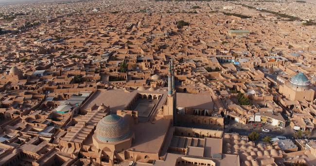 Йезд. Вид на мечеть Джаме. Фото: S.H. Rashedi © ICHHTO