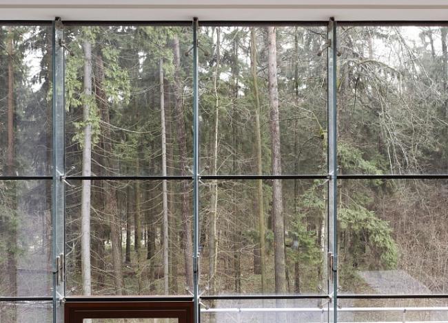 Частный дом в Барвихе. Вид из окна © АРХКОМ