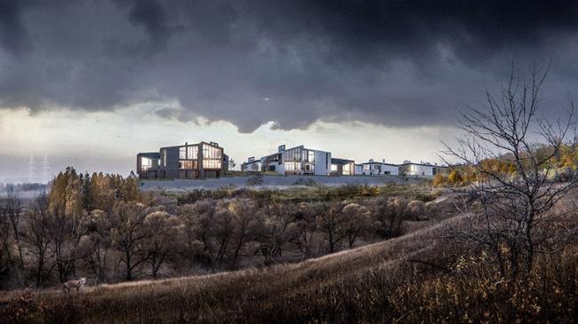 Коттеджный поселок в Одинцовском районе © IQ Studio