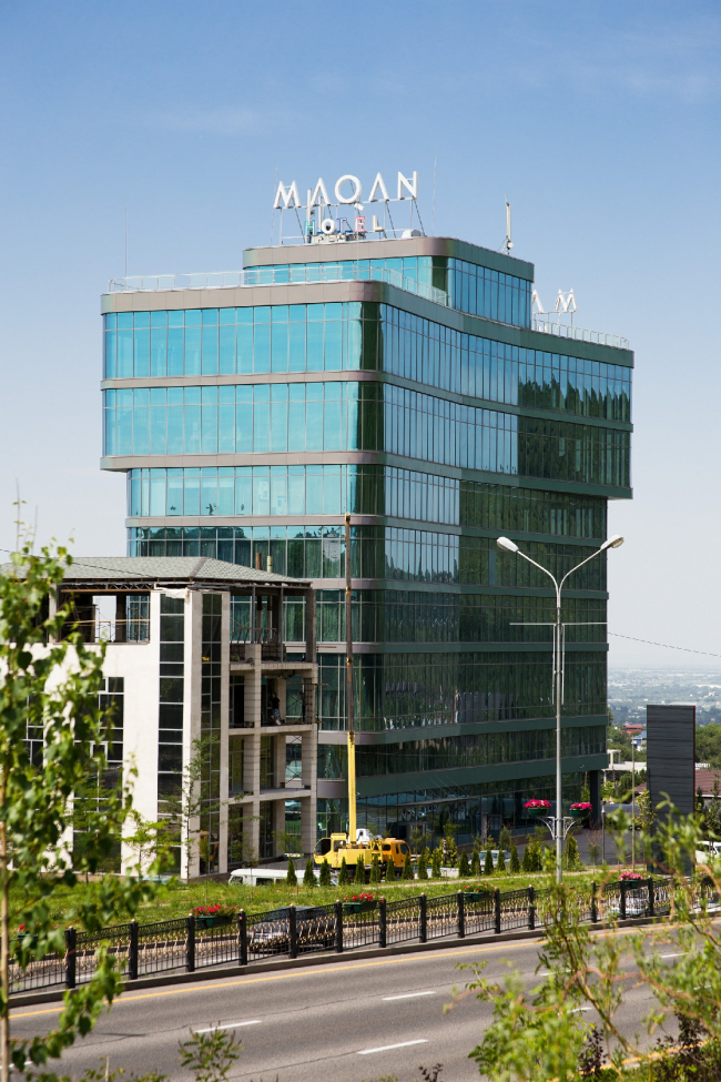 Отель Maqan Hotel Almaty. Фотография предоставлена ROCKWOOL
