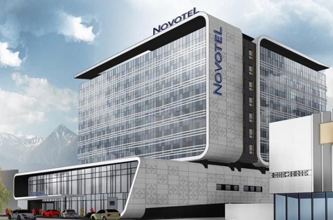 Отель Novotel Алматы. Фотография предоставлена ROCKWOOL