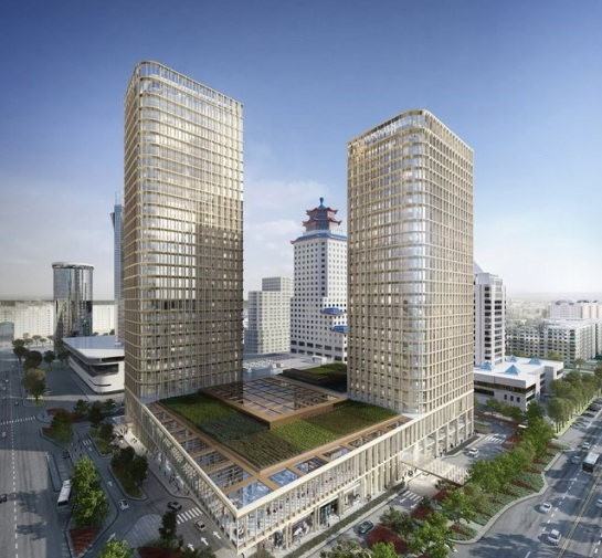 Отель Ritz-Carlton Astana. Фотография предоставлена ROCKWOOL