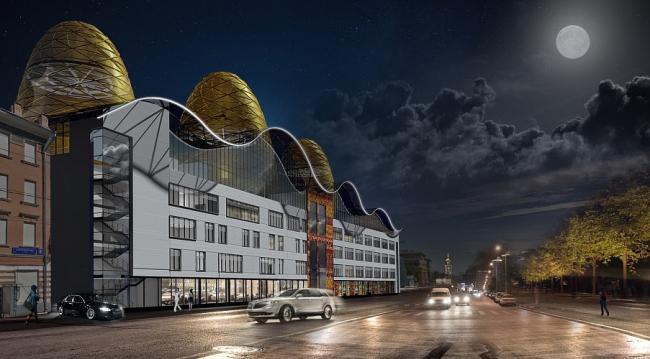 Цирковая школа на Каретном ряду © ППФ «Проект-Реализация»
