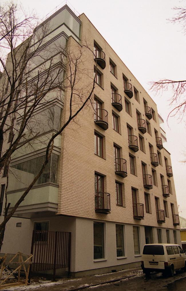 Жилой комплекс на ул. Остоженка