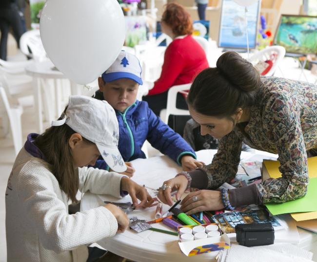 Фестиваль «Экотектоника», детская площадка. Фотография предоставлена организаторами