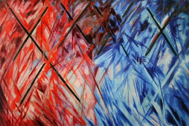 Mikhail Larionov. Radiant Lines. 1911