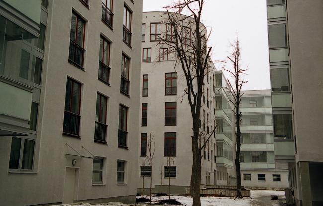 Жилой комплекс на ул. Остоженка © АБ Остоженка
