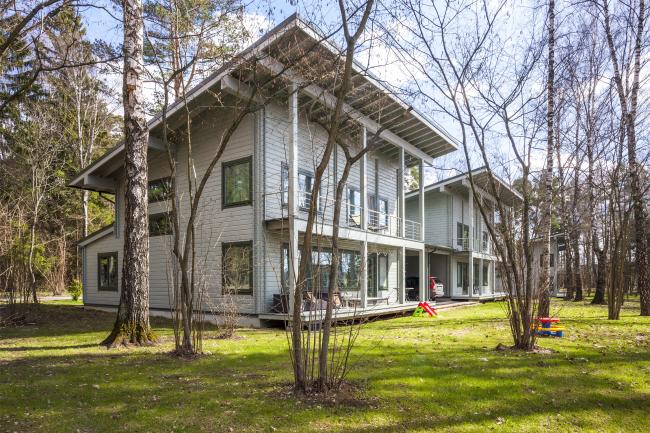 Дом Лесной. Арендный поселок «Дарьино-Успенское» © Архитектурное бюро Романа Леонидова