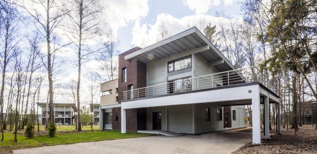 "The Big House. Rent-out settlement ""Daryino-Uspenskoe"" ©  Roman Leonidov architectural bureau"