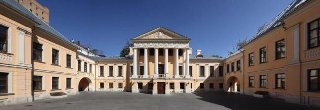 Реставрация усадьбы А.Н. Саймонова. Фотография © Марина Федина