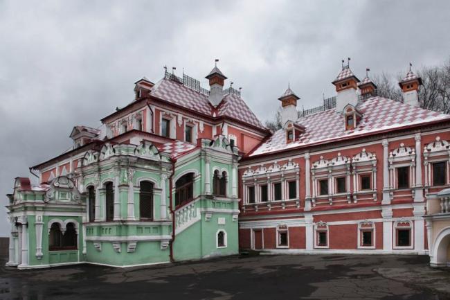 Реставрация палат Волковых – Юсуповых. Фотография © Максим Серёгин