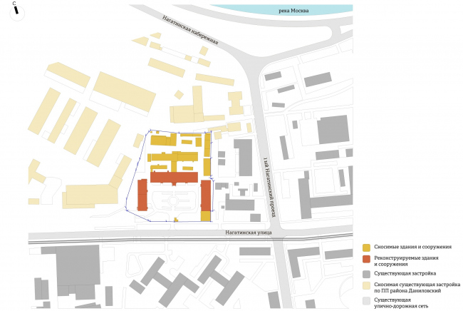 """Yolki-Park"" multifuctional complex. Key plan © The Fourth Dimension"