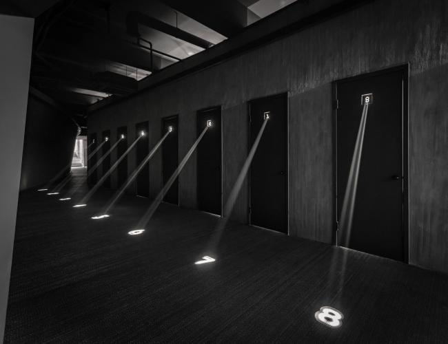 Театр Дзянь Ли Дзюй, Шанхай. Гримуборные © More Design Office