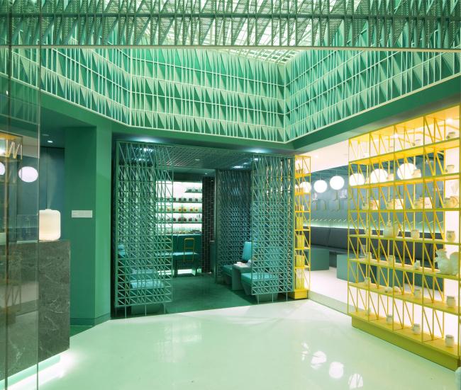 Спа-центр Nimman Spa в Шанхае © Maos Design