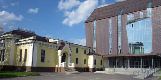 Реконструкция музея Нестерова. Проектировщик: Башкиргражданпроект. Фотография с сайта музея.