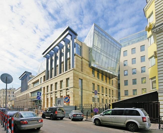 Здание Российского фонда федерального имущества © Архитектурная мастерская Сергея Ткаченко