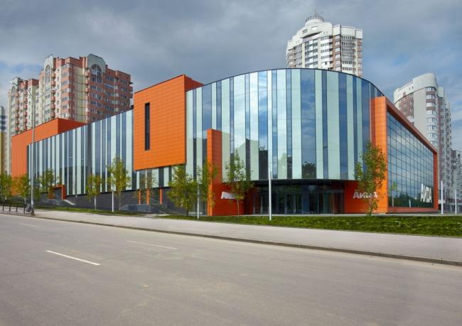 Торговый центр на ул. Блюхера-Уральская © Уралпроектдубрава