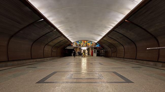 Станция метро «Черкизовская». Фото: A.Savin via Wikimedia Commons. Лицензия Free Art License 1.3