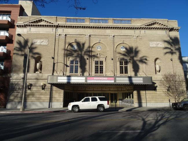 Raymond Theatre, Пасадина, 1921 (арх. Cyril Bennett). Фотография Марина Хрусталева