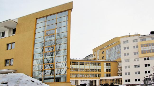 Инфекционный корпус на территории Детской городской клинической больницы №9 им. Г.Н.Сперанского © Моспроект-4