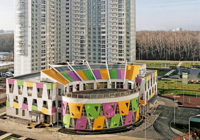 Детский сад в Чертаново-Южное © Моспроект