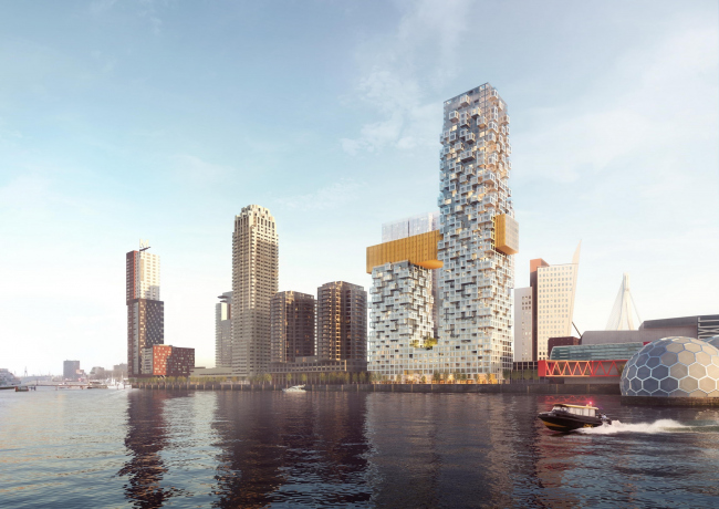 Комплекс The Sax © MVRDV