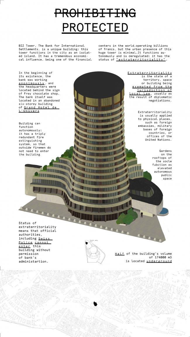 Концепция нового использования башни BIZ tower © бюро «КОСМОС»