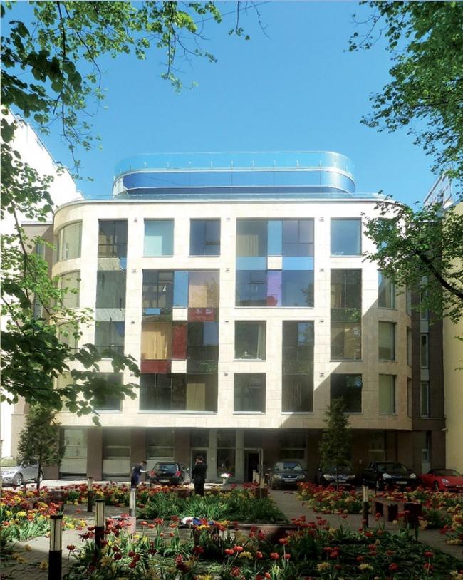 Административное здание на ул. Чайковского © Архитектурно-проектный центр Мамошина