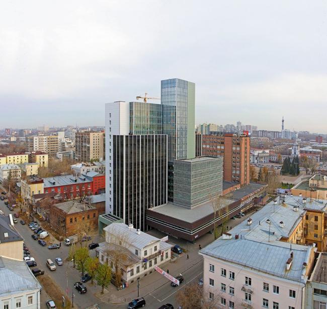 Офисный комплекс «Вознесенский» © ООО «ВостокПроект»
