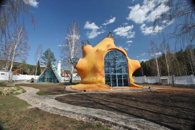 Частый жилой дом «Ракушка» © Архстудия ВЕЖА