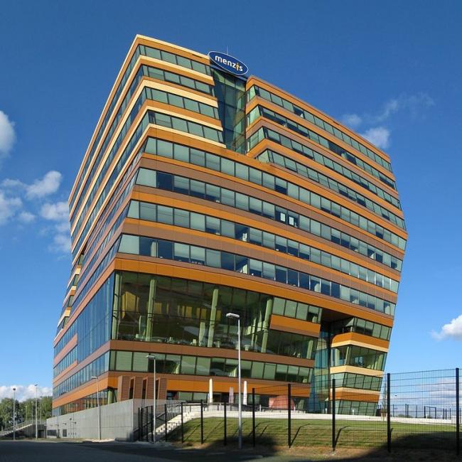"Штаб-квартира компании ""Menzis"". Фото: Wutsje via Wikimedia Commons. Лицензия CC BY-SA 3.0"
