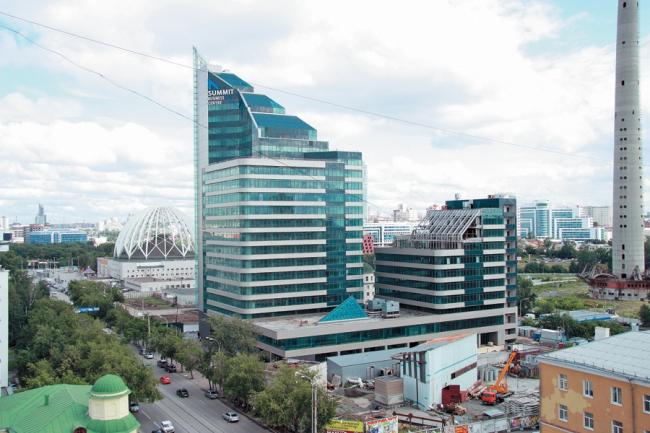 Административно-гостиничный комплекс «САММИТ» © Екатеринбурггорпроект