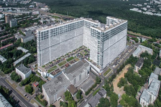 Жилой комплекс «Аэробус». 2004-2007. Архитекторы ТПО «Резерв». Фото © Денис Есаков