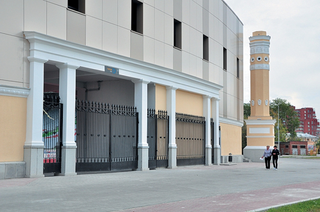 «Стадион Центральный». Реставрация © Первая архитектурно-производственная Мастерская