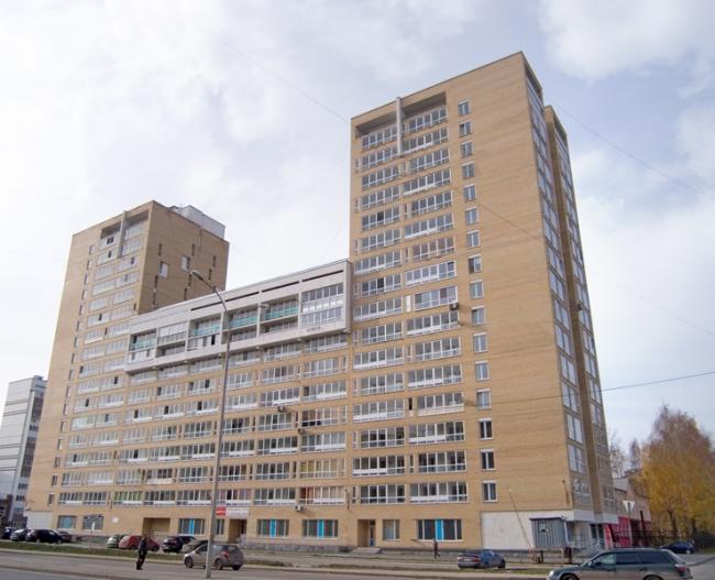 Жилой дом на ул. Бакинских Комиссаров © Архитектурное бюро «ОСА»