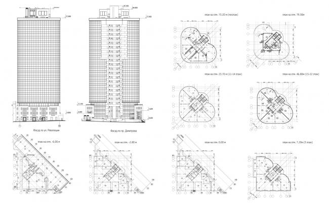 Бизнес-центр КОБРА © Архитектурная мастерская Бородкина В.В. + Инженерное бюро Феликова
