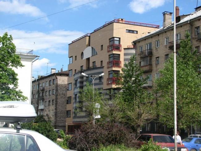 Жилой дом на ул. Свердлова © Онего-проект