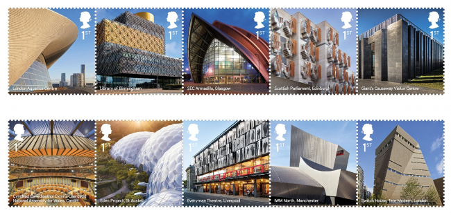 Landmark Buildings © Royal Mail