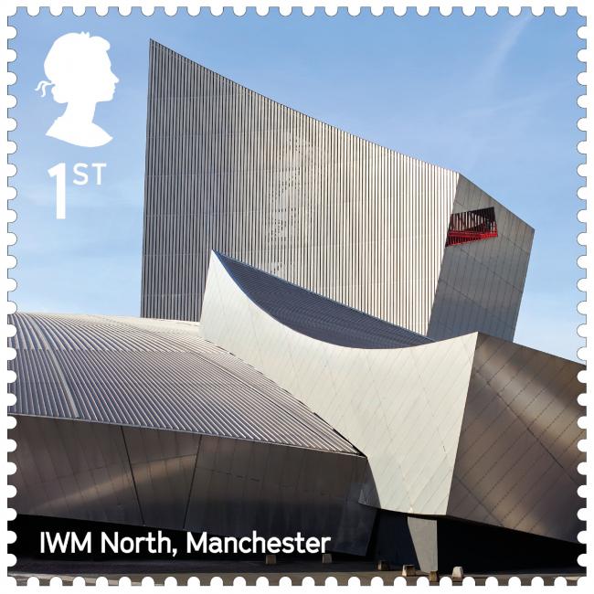 Северный имперский военный музей. Landmark Buildings © Royal Mail