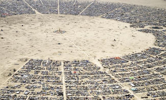 Фестиваль Burning Man © Philippe Glade